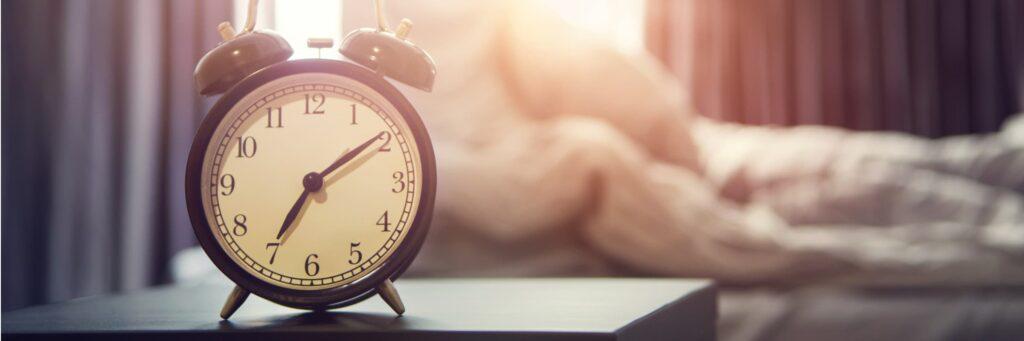 Alarm clock for routine