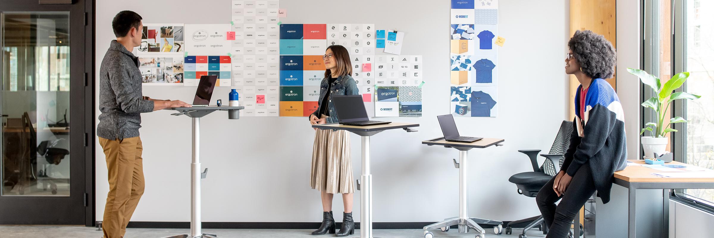 Mobile desk collaboration